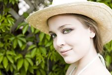 Free Woman In The Park Royalty Free Stock Photo - 5413315