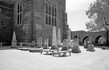 Free The Infrared Image Of A Church Ground Royalty Free Stock Photo - 5413475
