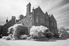 Free The Infrared Image Of A Church Ground Stock Photography - 5413482