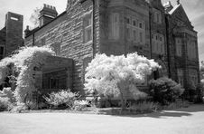 Free The Infrared Image Of A Church Ground Stock Images - 5413484