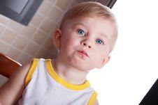 Free Boy Little Stock Photography - 5413772