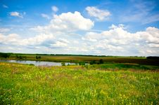 Free Summer Landscape Royalty Free Stock Photography - 5413807