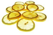 Lemon In Light Stock Photo
