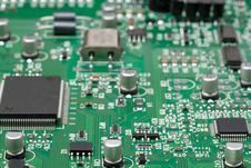 Free Close-up Circuit Board Stock Images - 5414004