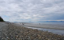 View Of Qualicum Beach Stock Image