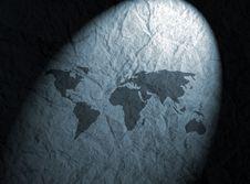 Free Textured Map Stock Photos - 5414613