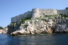 Free Fort In Dubrovnik Royalty Free Stock Image - 5414846