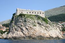 Fort In Dubrovnik Royalty Free Stock Photography
