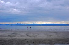 View Of Qualicum Beach Royalty Free Stock Photography