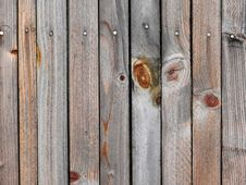 Wooden Fence. Texture. Stock Images