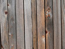 Wooden Fence. Texture. Stock Photos