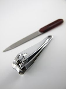 Free Nail Clipper And Rasp Stock Photos - 5415173