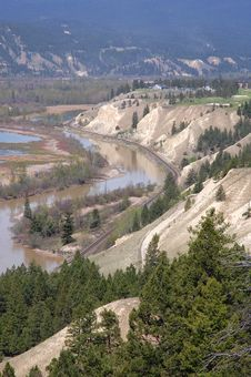 Free River And Valley Stock Photography - 5415412