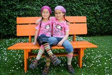 True Twins Royalty Free Stock Photo