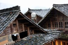 Free Zhuang S Roofs Royalty Free Stock Photos - 5416118