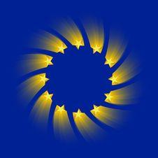European Union Flag Royalty Free Stock Photos