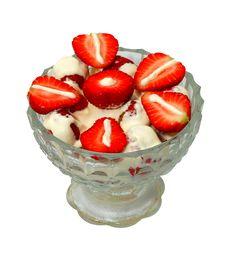 Free Creamed Strawberry Slice Royalty Free Stock Photos - 5417248