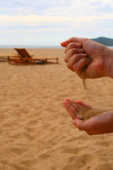 Free Sand At The Beach Stock Photo - 5417530