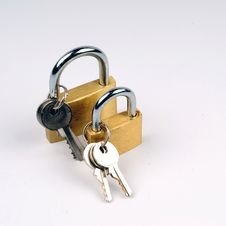 Free Locks Royalty Free Stock Image - 5417556