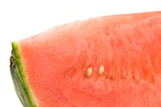 Free Cool Refreshing Watermelon Wedge Royalty Free Stock Photography - 5418007
