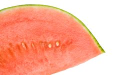 Free Cool Refreshing Watermelon Wedge Royalty Free Stock Image - 5418046