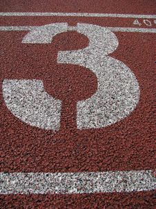 Free Track Finish Line Stock Photography - 5418172