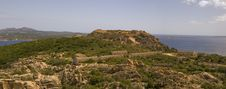 Second World War Fortress In Sardinia Royalty Free Stock Image