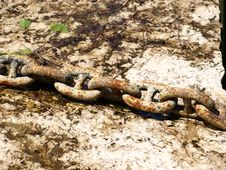 Free Old Chain Royalty Free Stock Photos - 5418368
