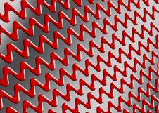 Free Zigzag Metal Landscape Stock Images - 5418524