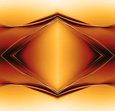 Free Golden Background Stock Image - 5418711