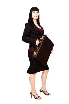 Free Business Woman. Royalty Free Stock Image - 5419536