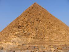 Pyramid Close Up Royalty Free Stock Photography