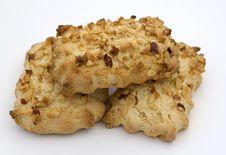 Free Nut Cookies Stock Image - 5419741