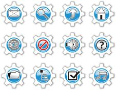 Free Icons Royalty Free Stock Photos - 5419928