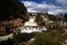 Cascade Dam 2 Royalty Free Stock Photos