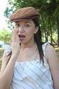 Free Surprised Woman Stock Photo - 5423860