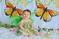 Free Baby Girl With Butterfly Wings Royalty Free Stock Photography - 5425917