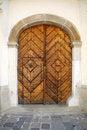 Free Old Oak Door Royalty Free Stock Photo - 5426685