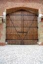 Free Old Oak Door Stock Photography - 5426892
