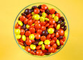 Free Candy Stars In Dish Stock Images - 5428544