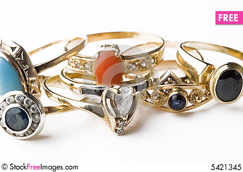 Free Rings Royalty Free Stock Photo - 5421345