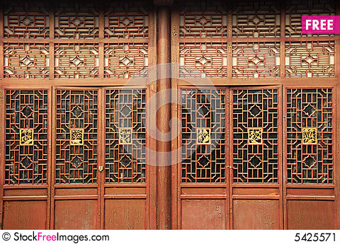Chinese traditional door & Chinese Traditional Door - Free Stock Images \u0026 Photos - 5425571 ...