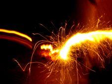 Free Firecracker Blurs Stock Photography - 5420172