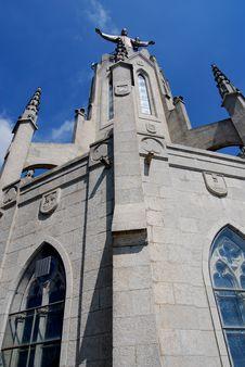 Tibidabo Church, Barcelona Spain Stock Photography