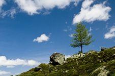 Free Flüela Pass; Switzerland Stock Photography - 5420582