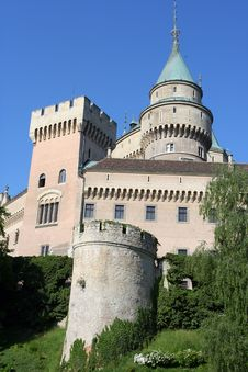 Free Bojnice Castle Stock Photography - 5420602