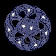 Free Blue Illusion Ball Stock Photo - 5420760