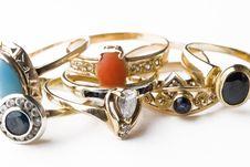 Free Rings Royalty Free Stock Photo - 5421345