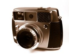 Free Old Camera Royalty Free Stock Photography - 5422267