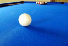 Free Pool Table Stock Photo - 5422370
